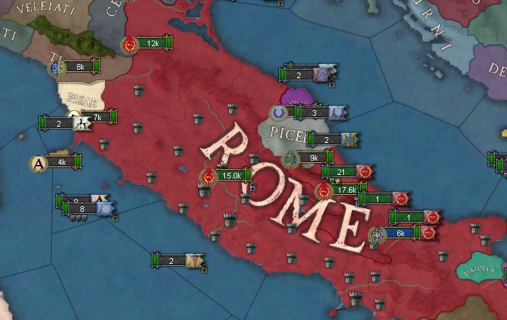Imperium Universalis : The Rome we Wanted - The Strategy Gamer
